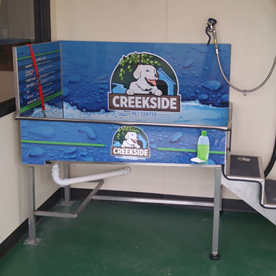 Creekside pet center 24 hour dog wash 24 hr wash 2 solutioingenieria Image collections